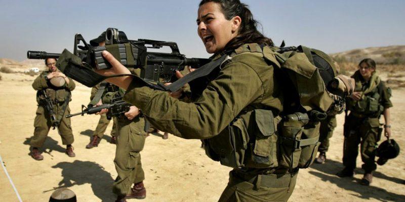 izrael, ženy v prvej línii