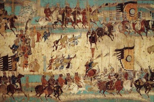 História farieb a maľovania